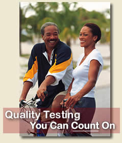 Quality Testing You Can Count On